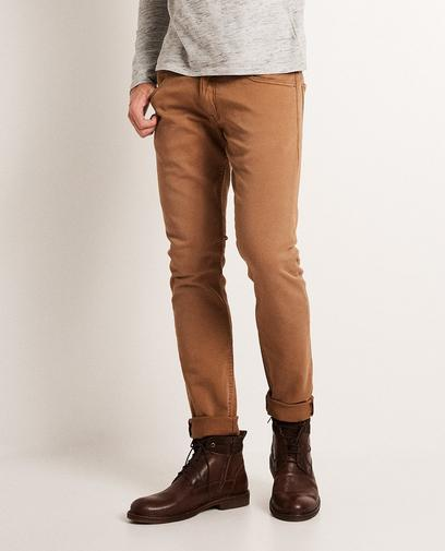 Pantalon skinny, sweat denim